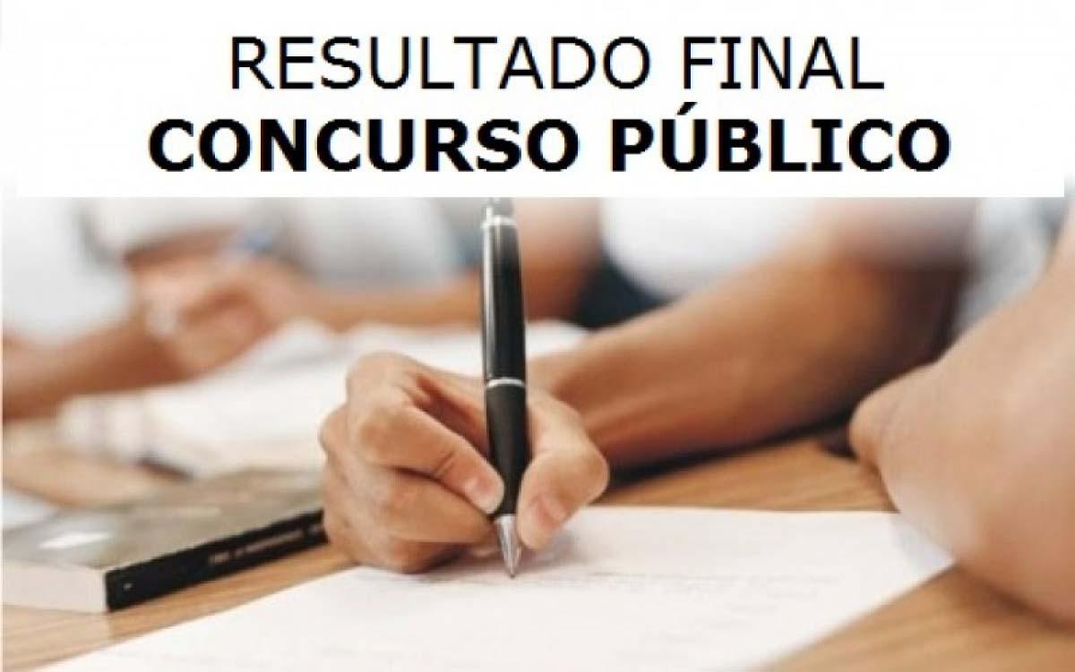 Homologação do Resultado Final do Concurso Público da Câmara Municipal